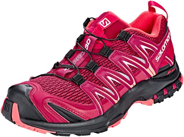 Shoes at Beet Xa 3d Salomon Redcerise Damen Pro blackCampz IEDH92WY